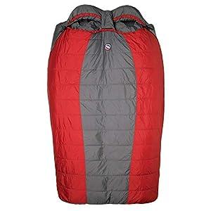 "Big Agnes Big Creek 30┬░ Insotect Hot Stream 40"" Doublewide Sleeping Bag (Red"