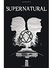 Supernatural: Castiel notebook, 100 lined pages, 6x9''