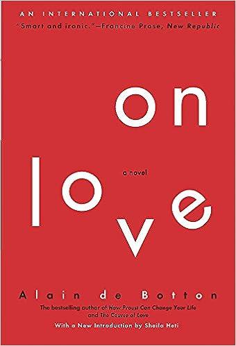Essays in love alain de botton online dating
