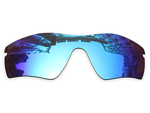 Vonxyz Lenses Replacement for Oakley Radar Path Sunglass - Ice MirrorCoat ()