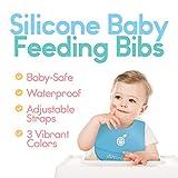 Silicone Baby Feeding Bibs with Food Catcher Pocket