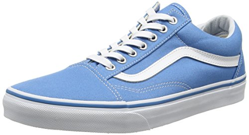 Vans Old Skool Canvas Skate Shoes Cendre Blue/True White, Men's 6 Women's 7.5 by Vans