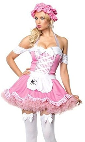 [Classic Miss Muffet Adult Costume Size Small] (Miss Muffet Costumes)