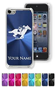 Case/Cover for iPhone 5C - HORSE RACING - Personalized for FREE (Click the CONTACT SELLER link after purchase and send a message with your case color and engraving request)