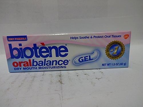 Biotene Oral Balance, Dry Mouth Moisturizing Gel 1.5 oz (42 g) (Balance Moisturizing Biotene Oral Gel)