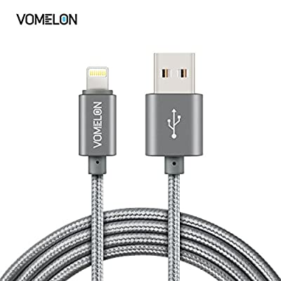 iPhone 6 charging Cable (6 Feet), V0MEL0N High Speed Data Cable Durable NylonFiber Braided Cable Cord