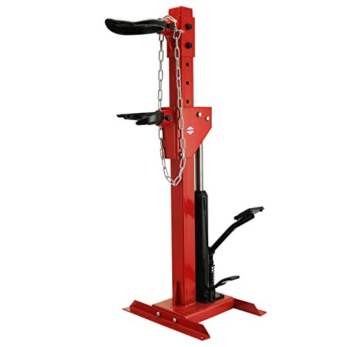 Spring Hydraulic Compressor - Bestauto Coil Spring Compressor 3T Auto Strut Coil Spring Compressor 6600 Lbs Heavy Duty Air Hydraulic Cars Truck with Snap Joints