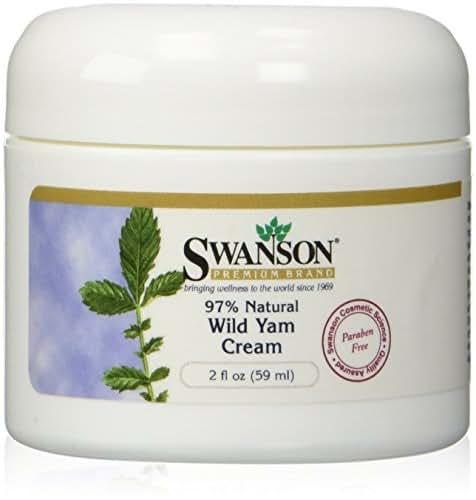 Swanson Wild Yam Cream 2 fl oz (59 ml) Cream