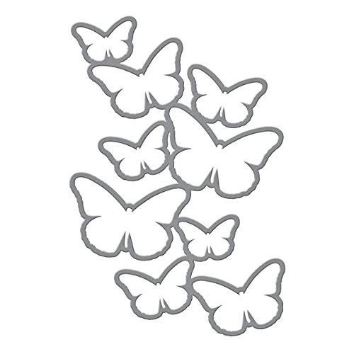 Spellbinders S5-242 Shapeabilities Cascading Butterflies Etched/Wafer Thin -