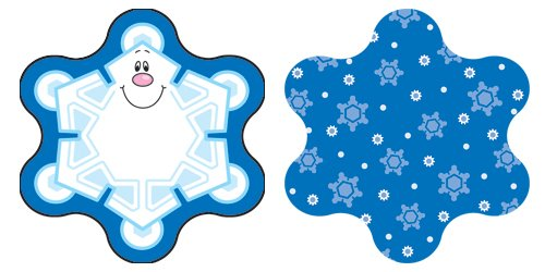 Carson Dellosa Snowflakes Cut-Outs ()