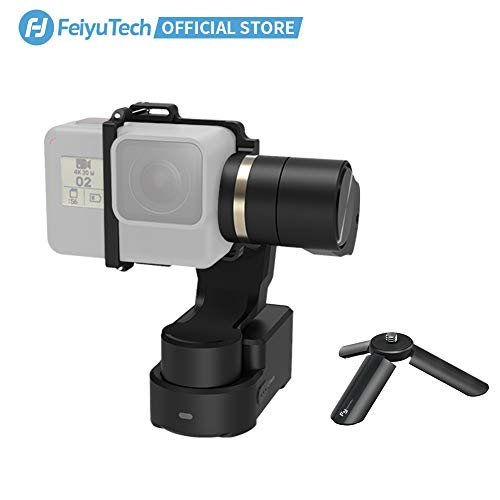 FeiyuTech WG2X 3-Axis Gimbal for GoPro Hero 7/6/5/4/3 Wearable...