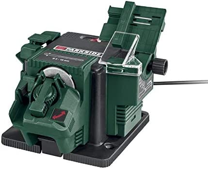 maquina para afilar herramientas, universal, multiusos de color verde oscuro