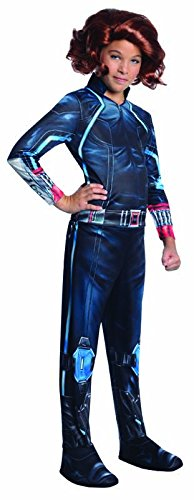 Child Black Widow Costume (Rubie's Costume Avengers 2 Age of Ultron Child's Black Widow Costume, Medium)