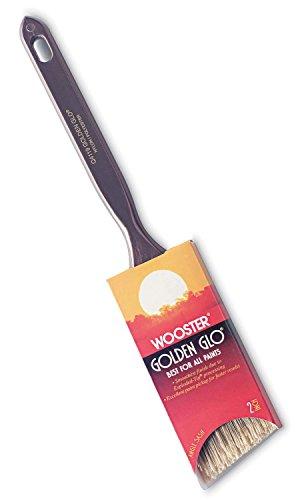 Wooster Brush Q4119-2 Golden Glo Angle Sash Paintbrush, 2-Inch