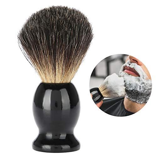 虫トーストもう一度Yuyteポータブル男性ウッドハンドル髭剃りブラシ理髪店サロンツール
