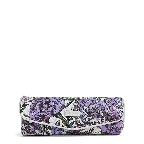 (Vera Bradley Iconic On a Roll Case, Signature Cotton, Lavender Meadow)