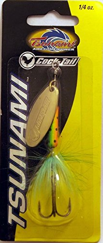 Tsunami Cocktail In-Line Spinner Lure