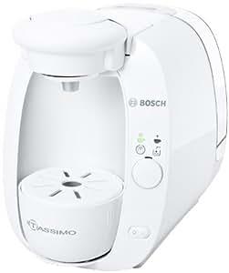 Bosch TAS2001 - Cafetera multibebidas Tassimo, color blanco