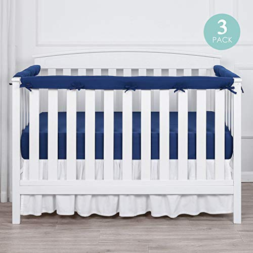 Learn More About TILLYOU 3-Piece Padded Baby Crib Rail Cover Protector Set from Chewing, Safe Teethi...
