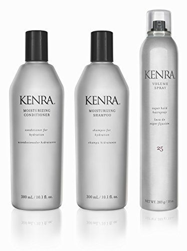 Kenra Moisturizing Shampoo Conditioner Hairspray Gift Set