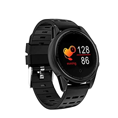 YSCYLY Fitness Tracker Bluetooth Smart Activity Wristband IP67 Waterproof Blood Pressure Oxygen Pedometer Sleep Monitor for iOS Android Black Estimated Price £57.24 -