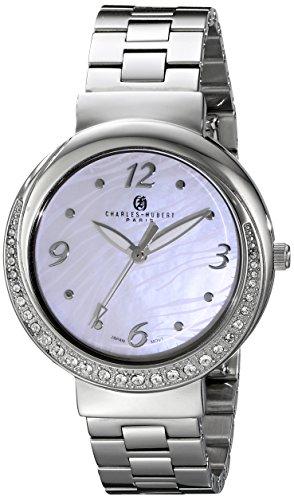 Charles-Hubert, Paris Women's 6906-WM Premium Collection Analog Display Japanese Quartz Silver Watch