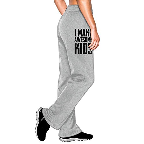 Wohio Awesome Kids Mens Sweatpants M Ash