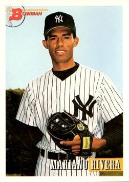 1993 Bowman 327 Mariano Rivera Baseball Card