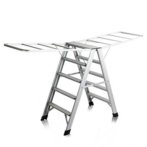 Multifunctional ladder drying rack,Two-way landing collapsib