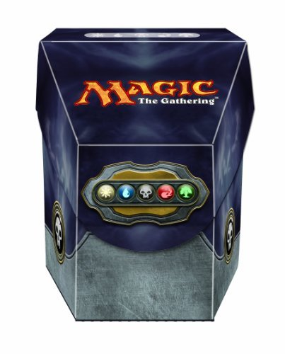 Ultra Pro Magic Commander Deck Box Mana Black by Ultra Pro