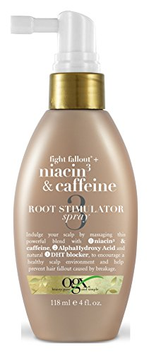 Ogx Niacin 3 & Caffeine Root Stimulating Spray 4oz (2 Pack)