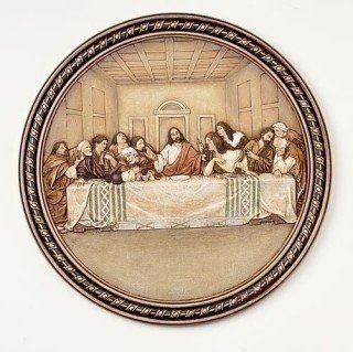 Last Supper Plate by Roman Inc ()