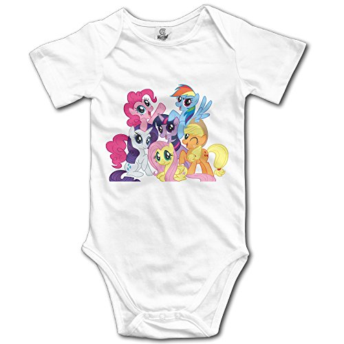 Price comparison product image My Little Pony Short Sleeve Pack Bodysuits For Baby Unisex
