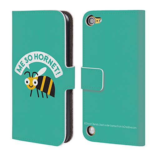- Official David Olenick Yellow Jacket Animals Leather Book Wallet Case Cover for Touch 5th Gen/Touch 6th Gen