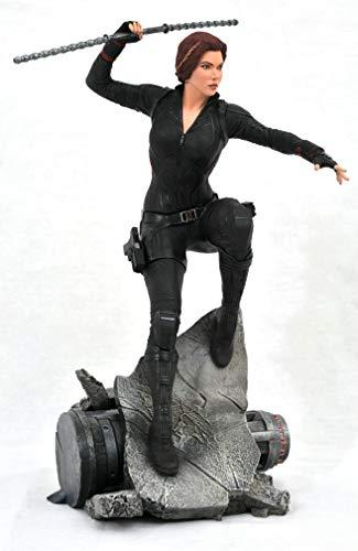 41gJyrm%2B gL DIAMOND SELECT TOYS Marvel Premier Collection: Avengers Endgame Black Widow Statue, Multicolor