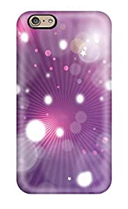 First-class Case Cover For Iphone 6 Dual Protection Cover Purple Abstract 3d Nfl Logos Vector