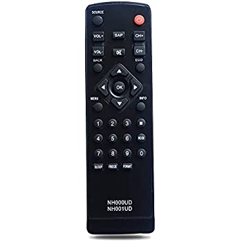 Amazon.com: Universal Remote NH000UD NH001UD for Emerson
