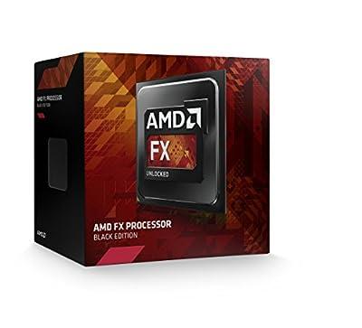 AMD FX 4350 Unlocked Quad Core Processor 4.2 4 FD4350FRHKBOX, Black Edition by AMD