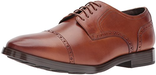 Cole Haan Mens Jefferson Grand Cap Ox Ii Oxford British Tan