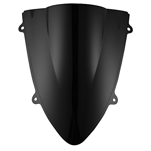 ninja 250 black windscreen - 3