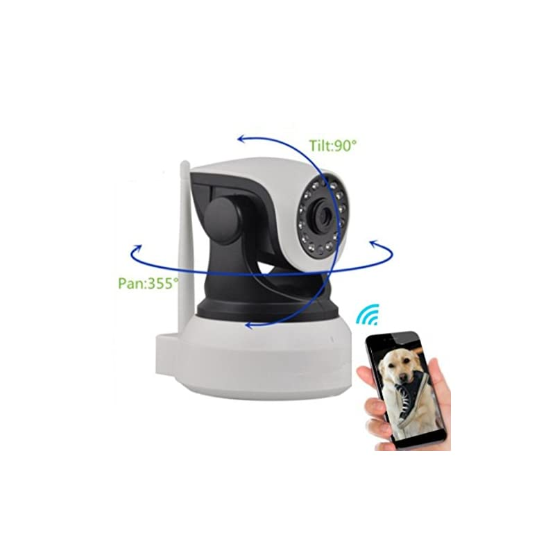 dog supplies online dog monitor - camera monitor- check on your pet from anywhere any time pan tilt the camera from your smart phone dog cameras with phone app two way audio hd indoor wifi ip camera 2.4ghz not 5g