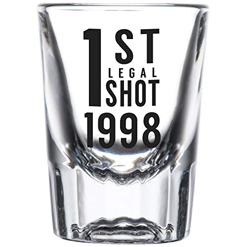 1st Legal Shot Glass (1998 PRINTED)