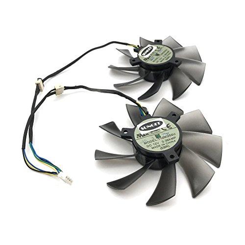 T129025SU 12V 0.38A 4PIN for ASUS HD7970 HD7950 GTX680 DirectCU II fan (2PCS/LOT) by Z.N.Z (Image #1)