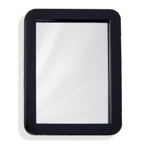 5 X 7 Inch Magnetic Locker Mirror - Real Glass - School or ()
