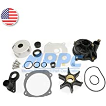 Water Pump Repair Kit With Housing for Johnson Evinrude V4 V6 V8 85-300HP Outboard Motor Parts Impeller Replacement 5001594