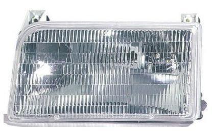 1992 92 Ford Bronco Drivers (1992 - 1996 Ford F150 Driver Headlamp Headlight NEW 92-97 Ford F250 F350 Super Duty 92-96 Bronco F2TZ13008B FO2502118)