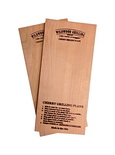 Wildwood Grilling 6X12 Cherry Grilling Plank, 2 CT