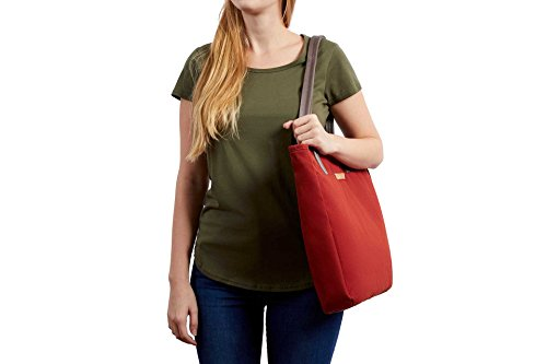 Bellroy Tokyo Tote, Water-Resistant Woven Tote Bag (13'' Laptop, Tablet, Notes, Cables, Drink Bottle, Spare Clothes, Everyday Essentials) Red Ochre by Bellroy (Image #9)