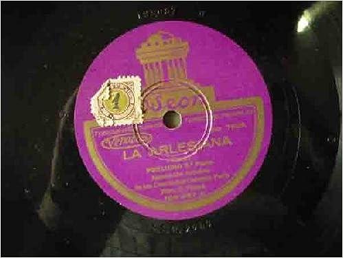 Antiguos discos pizarra - Old slate. LA ARLESIANA: Amazon.es ...