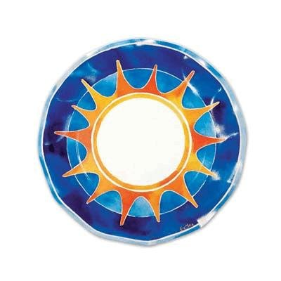 Deluxe Summer Party Plate 8.25 Inch (Pack of 12) by Beistle (Image #1)